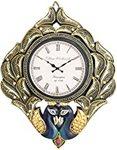 RoyalsCart Peacock Handcrafted Analog Wall Clock Starts at Rs.499.