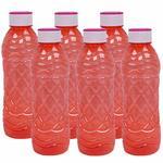 Fridge Plastic Water Bottles - 1 Litre (Pack of 6) @191