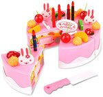 Webby Musical & Lighting DIY Birthday Cake Toy, 37 Pcs* @Rs. 379