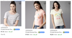 HERE&NOW Women's Clothing 60-75% off From Rs.174