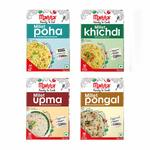 40% Off - Manna Instant Mix Breakfast Combo Pack of 4 (180g Each) at Rs.262