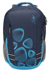 Skybags Footloose Gizmo 1 Navy Printed Laptop Backpack