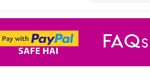 Myntra :- Get 50% cashback upto Rs.500 for New PayPal Users