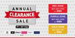 BrandFactory Annual Clearance Sale 7-16 Feb :- Get Any 3/2/1 PCs @ 999₹
