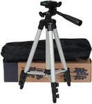 Dewberries Portable and Foldable Tripod with Mobile Clip Holder