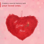 Red Heart Shape Soft Cushion For Valentine @230 (effective)