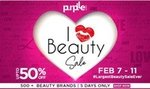 Upto 50% off on 500+ beauty brands (I Love Beauty Sale from 7-11 February)