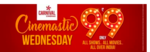 Carnival Cinematic Wednesday :- Get All Shows of All Movies All Over India at Rs.99