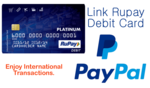 RuPay Card now working on Paypal