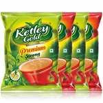 Ketley Gold Premium & Premium Strong Assam CTC Tea, 1kg Combo Pack (Premium: 250g x 2 + Premium Strong: 250g x 2)