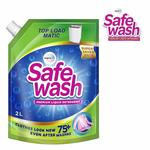 50% Off : Safewash Matic Top Load Liquid Detergent by Wipro, 2L at Rs.185
