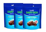 LuvIt Dairy Rich Home Delights Milk Chocolates Gift Combo, 140g - Pack of 3