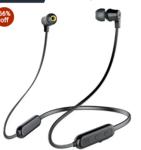 Infinity(JBL) Glide N100 Wireless Neckband with Deep Bass Dual EQ Bluetooth 5.0 & Sweatproof (Charcoal Black)
