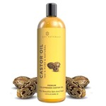 Extra Coupon Off - Rey Naturals Cold Pressed Castor Oil, 200ml