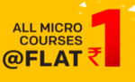 Vedantu LOOT Offer: All Educational Micro Courses at Rs.1