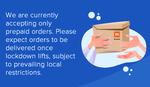 MI STORE Accepting Prepaid orders