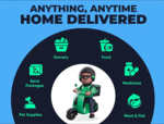 Dunzo delivering daily essentials, expanded delivery network