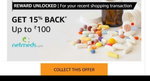Amazon new shopping transaction offer may be user specific