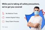 Health Insurance cover for Covid 19 on Flipkart (No medical test)