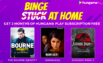 Free 2 Months Subscription of Hungama Play App