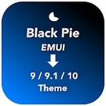 [Apps] Black Pie Theme for EMUI 9 / 9.1 /10 Huawei/Honor for Free