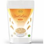 Sinew Nutrition Gluten Free Steel Cut Oats, Rich in Fiber Protein - (1800gm)