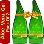 Newwish Aloe Vera Gel Pack of 2 (130 +130 ml )
