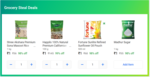 Grocery Steal Deals - 4 Items For Rs.4 (Sugar 1kg + Almonds 100 gm + 1kg Rice + Oil 500ml)
