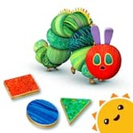Hungry Caterpillar Shapes and Colors Free Educational App For Kids