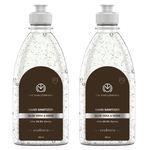 The Man Company Hand Sanitizer Aloe Vera & Neem 500 ml ( Pack of 2)
