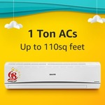 Amazon Get 10% Instant Discount on SBI Credit Cards on purchase of listed AC's and Coolers