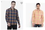 Mufti Printed Casual Shirts Up to 60% OFF