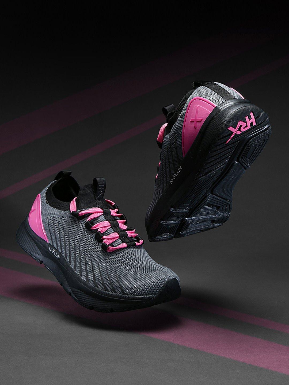 HRX Women Grey Textile N-FLUX Running