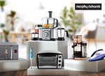 10% instant savings on min spend of Rs 1000 on Morphy Richards Via Citi Cards