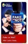 Play Flipkart Video presents Fake or not and win assured rewards 3rd August