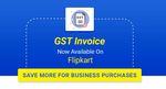 GST Invoice on Flipkart (For Business Users)