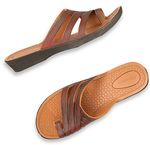 Bata SANDAK Brown Chappals For Women at Rs.139 With Free Shipping