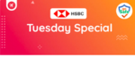 Flat 10% off upto 1250 on domestic flights from Goibibo using HSBC credit cards every Tuesday + hotels offer (domestic & international)