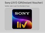 Sony Liv Subscription at Rs 500