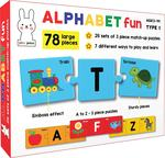 Play Poco Alphabet Fun Type 1 - 78 Piece Alphabet Matching Puzzle - 7 Different Ways to Play and Learn - Includes 78 Large Puzzle Cards with Beautiful Illustrations Rs. 279 - Amazon  Lighting Deals
