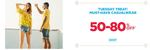 Ajio Tuesday Treat Sale - Min 50 - 80% Off On Top Brands Clothing Casualwear