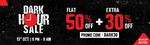 Brand Factory Dark Hour Sale: Flat 50% Off + Extra 30% Off on Clothings (9PM - 9AM)
