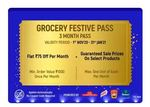 Flipkart Grocery Festive Pass At Rs.1  [Save upto ₹1100]
