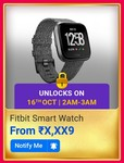 Fitbit Smartwatch @ X,XX9 (Unlock @ 2AM-3AM)on 16th of October