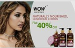 Purplle- Wow Skin Care Products Flat 40% Off