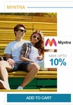 Getting myntra Gift voucher at 14.5% off
