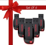 May be loot SanDisk Cruzer Blade 32 Gb Pendrive ( Pack of 5)+50Rs Delivery charge