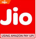 Amazon pay UPI Get 5% BACK Up to ₹50 on Jio