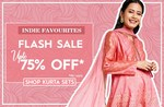Globaldesi Flash Sale - Upto 75% off on Women's Clothing & Accessiories