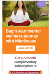 ICICI OFFER - Get a 6-monthcomplimentary subscription to Mindhouse